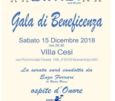 Gala di Beneficenza 15/12/2018